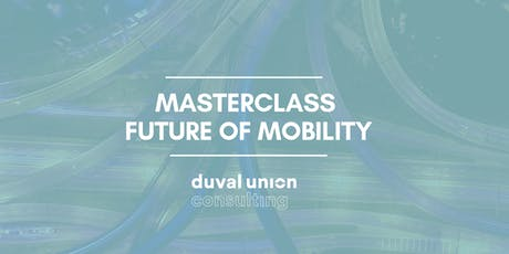 Masterclass Future of Mobility tickets
