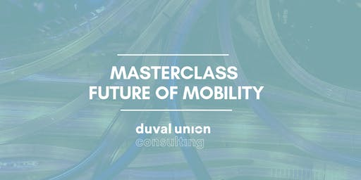 Masterclass Future of Mobility