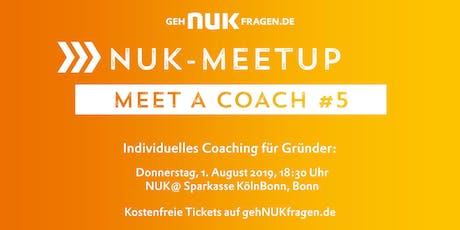 Meet a coach #5 | NUK-Meetup Tickets