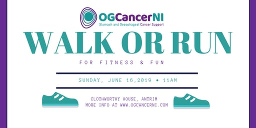 OGCancerNI - Walk or Run