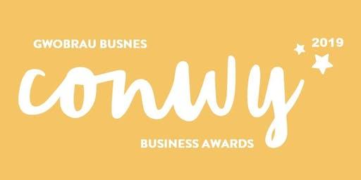 2019 Gwobrau Busnes Conwy Business Awards