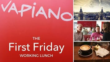 The First Friday Working Lunch
