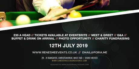 An Evening to Remember with Jimmy White tickets