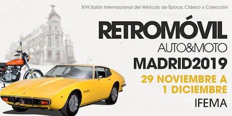 Retromóvil Madrid, XVII Salón Internacional del Vehículo de Época entradas