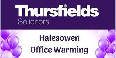 Thursfields Halesowen Office Warming