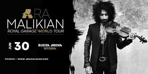 Ara Malikian en Vitoria - Royal Garage World Tour