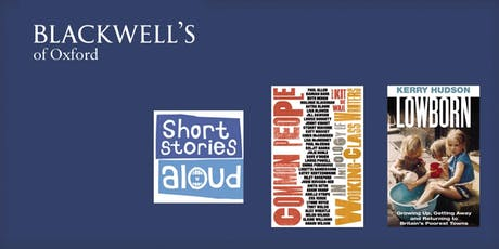 Short Stories Aloud - Kerry Hudson & Adam Sharp tickets