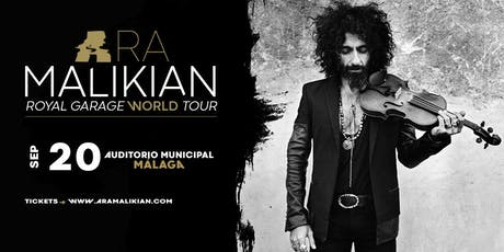 Ara Malikian en Málaga - Royal Garage World Tour entradas