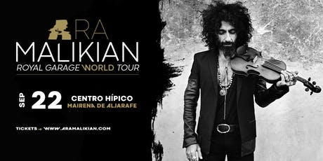 Ara Malikian en Mairena de Aljarafe - Royal Garage World Tour entradas