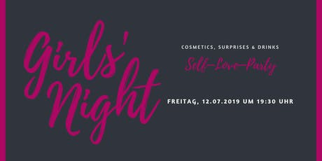 Girls Night – Self Love Party Tickets