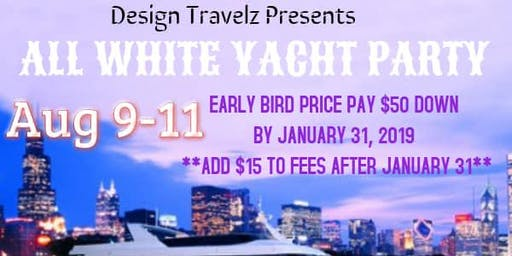 ALL WHITE YACHT PARTY @ CHICAGO'S NAVY PIER