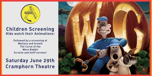 Artimate Kids Screening + Wallace & Gromit: The Curse of the Were-Rabbit