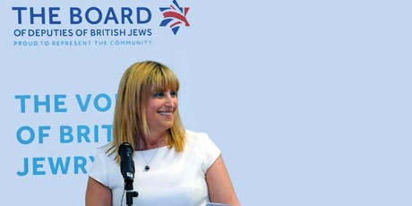 The Voice of British Jewry - Marie Van Der Zyl tickets