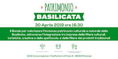 Patrimonio Basilicata, Open Day Dedicato al Bando Valorizzazione Basilicata
