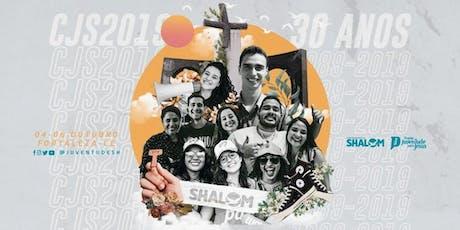 Pacote missão Belém para CJS Internacional - 30 anos  ingressos