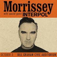 Morrissey @  the Bill Graham Civic Auditorium