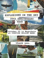 Explosions In The Sky 20th Anniversary Tour