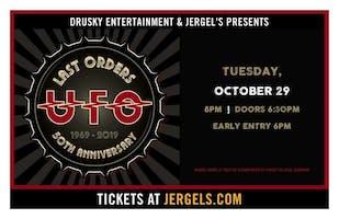 *UFO - Last Orders 50th Anniversary Tour