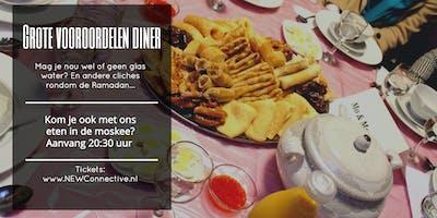 GVD diner in de Moskee