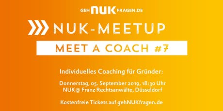 Meet a coach #7 | NUK-Meetup  Tickets