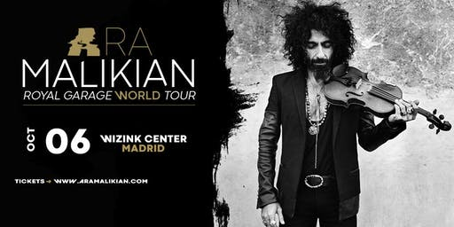 Ara Malikian en Madrid, WiZink Center. Royal Garage World Tour