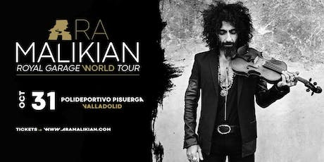 Ara Malikian en Valladolid. Royal Garage World Tour entradas