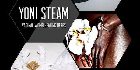 1-2-1 Yoni Steam Workshop tickets