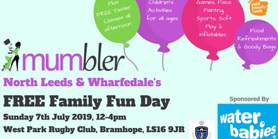 North Leeds & Wharfedale Mumbler's FREE Family Fun Day