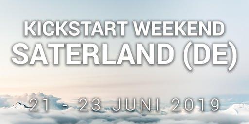 Kickstart-Wochenende Saterland (DE) / Kickstart weekend - 21-23 juni 2019