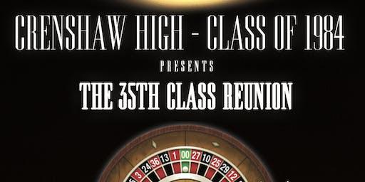 Crenshaw High Class of 84 - 35th Reunion - Casino Royale