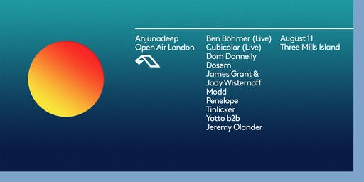 Anjunadeep Open Air: London