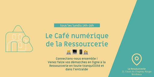 Le café du numérique de la Ressourcerie