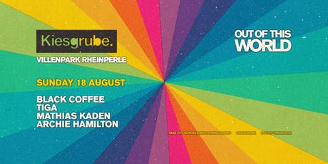 Kiesgrube Open Air w/ Black Coffee, Blond:ish, Archie Hamilton Tickets