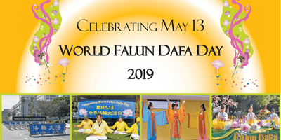 Celebrating World Falun Dafa Day - 2019