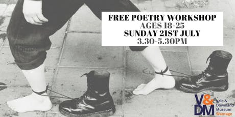 Poetry Workshop for ages 18 - 25 tickets