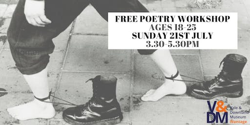 Poetry Workshop for ages 18 - 25