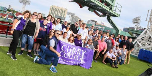 Curry College Alumni Day at Fenway