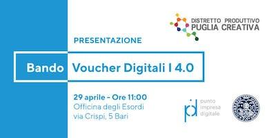 Presentazione Bando Voucher Digitali I4.0 - anno 2019