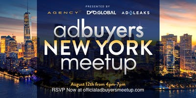 Ad Buyers New York Meetup