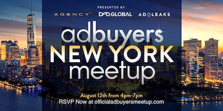 Ad Buyers New York Meetup tickets