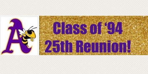AHS Class of '94 25th Reunion