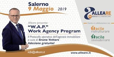 W.A.P. WORK AGENCY PROGRAM IN PARTNERSHIP CON FACILE RISTRUTTURARE