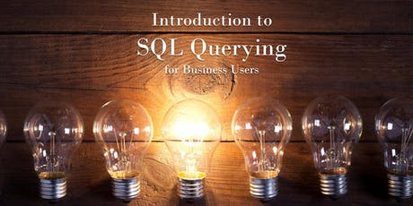 Introduction to SQL Querying for Business Users tickets