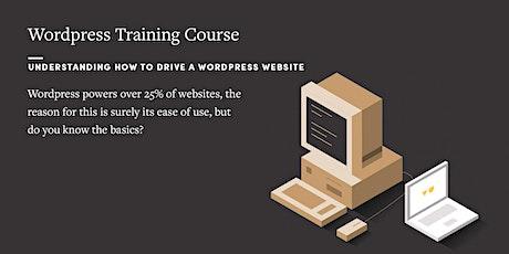 WordPress Training Course tickets