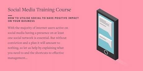 Social Media Training Course tickets