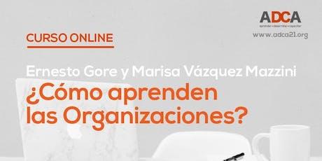 Curso online: ¿Cómo aprenden las Organizaciones? entradas