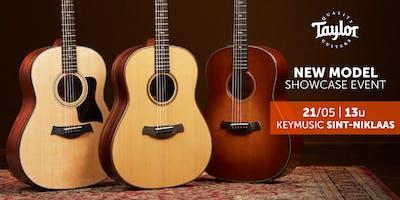 Taylor Guitars New Model Showcase event KEYMUSIC Sint-Niklaas