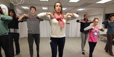 STAY AHEAD OF THE CURVE-SCOLIOSIS GROUP EXERCISE CLASS