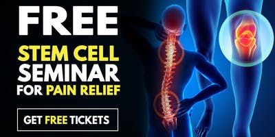 FREE  Stem Cell Seminar for Pain Relief - Arlington Heights, IL 4/25