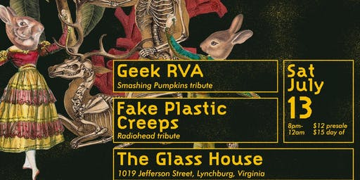 Fake Plastic Creeps w/ Geek RVA